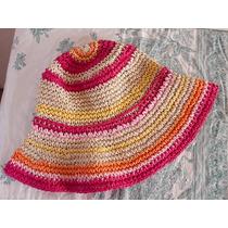 Sombrero Tipo Paja Para Niña Oshkosh