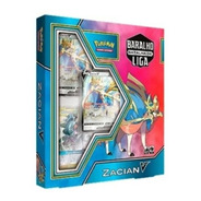 Pokémon Box Baralho Batalha De Liga Zacian Tcg