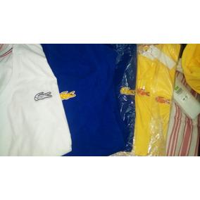 Camisas Lacoste Edicion Especial Cuello V.. Liquidacion