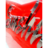 Letra Caixa E Numeros Em Aço Inox, Letreiro Galvanizado Inox