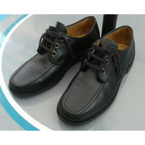 Zapato Hombre Mocasin Cuero 40