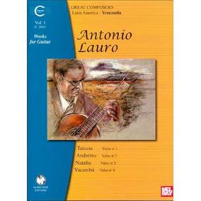 Libro Antonio Lauro Works For Guitar: 1 - Nuevo