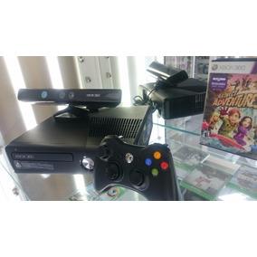 Xbox 360 Slim Destravado Com Sensor Kenect