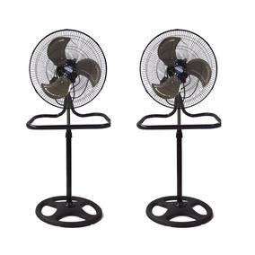 Ventilador Metalico Kit 2 Pzs Aspas Metal 18 Altura 2x1