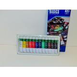Oleo Caja 12un Colores Surtidos 12ml