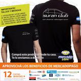 Remera Oficial Suran Club (blanca O Negra) Suran Club