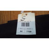 Pantalón Pinzado Marca Sabrina, Nuevo Con Etiqueta, Talle 44