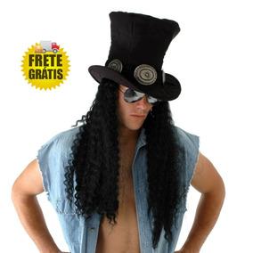Peruca Adulto Guitarrista Slash Guns N Roses Frete Gratis