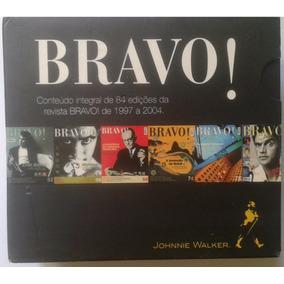 Revista Bravo Box 5 Cd Rom Multimidia Editora Abril Lacrado