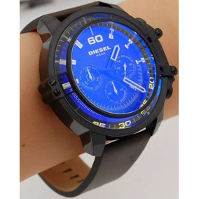 e7fdb7d1c68 Relógio Kfr5986 Diesel Masculino Dz4405 Preto E Azul S Cx