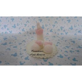 Souvenirs Porcelana Fria Nacimiento C/ Porta Mensaje