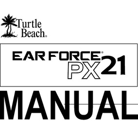 Manual Px21 Headset Ps3 Xbox Ps4 Switch Turtle Beach Px21