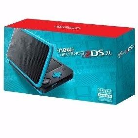 Console Nintendo New 2ds Xl Preto Ver 11.4 Postagem Imediata