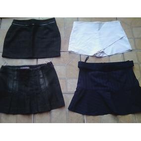Lote Com 4 Minisaia / Shorts Saia Zara, Hering, Daslu Usada
