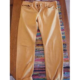 Pantalon Bensimon Color Mostaza