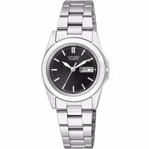 Reloj Citizen Eq0560-50e Con Fechador De Acero Inoxidable