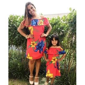 Vestido Ciganinha Tal Mãe Tal Filha - Primavera Verão