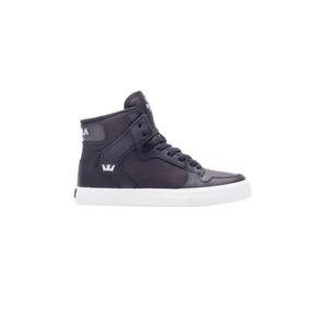 Zapatillas Supra Kids Vaider Black/herringb (58201- Sp081117