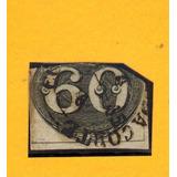 2.01cb-1843-unitá- Olho De Boi-o 2º Selo Da Série- C/defeito