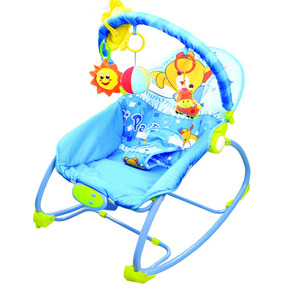Cadeira Cadeirinha Bebê Descanso Verão Musical Baby Style