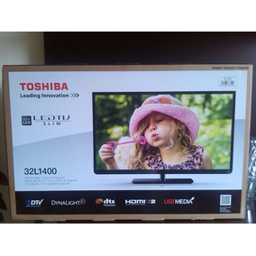 Tv De 32 Led Marca Toshiba Modelo 32l1400