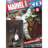 Marvel 3d Figuras De Colección - Nº 28 Lizard