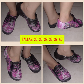 Babuchas/ Gomas/ Zapatos/ Guayos/ Crocs De Damas