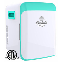 Frigo Bar Portable Cooluli Azul Turquesa