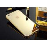 Protector Bumper Alum Espejado Iphone 4s/ 5s 6 /6s/ 7/7plus