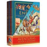 Libros De Aventuras Mitos Y Leyendas Lectura Juvenil 4 Tomos