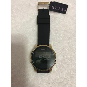 Reloj Guess W0787g1 Satellite Negro/dorado