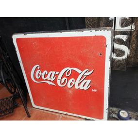 Antigua Mesa De Coca Cola. De Fierro