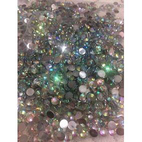 1000 Cristales O Strass 5mm Ab Para Pegar En Ropa,patín, Etc