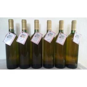 Kit 06 Garrafas Vinho Artesanal De Bergamota 750ml