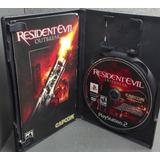 Resident Evil Outbreak Completo En Buenas Condiciones