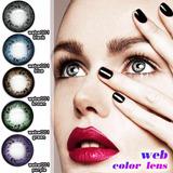 Lentes De Contacto Circle Lens, Web 001, Agrandan El Iris