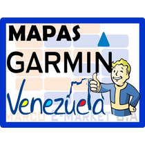 Mapas Para Gps Garmin De Venezuela 2017 - Envio Al Instante!