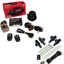 Alarme Automotivo Sistec Sxt 986 + Kit Trava Roadstar 4p