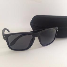 63f36244d51fe Oculos De Sol Holbrook Quadrado Masculino Preto Espelhado - Óculos ...