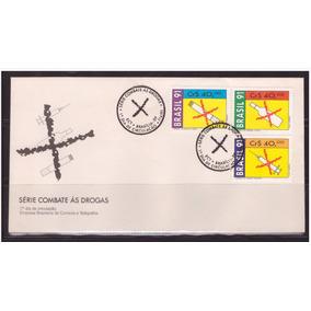 Fdc-530 1991 Serie Combate As Drogas
