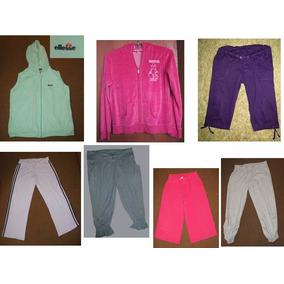 5 Pantalones Y 2 Polerones Deportivos L/xl Todo Por 7.500