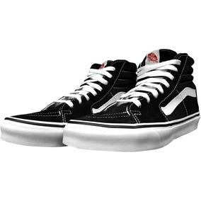 Tênis Vans Sk8 Hi Black/white - Loja Fox Club