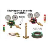 Kit Para Aparelho De Solda Ppu Oxigênio E Acetileno Em 12x