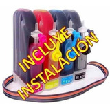 Sistema Continuo Hp Full Tinta Incluye Instalacion