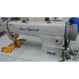Máq.costura Reta Sun Special C/garantia, Mesa Motor +brinde