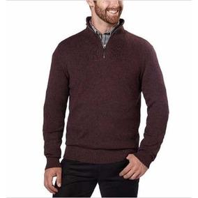 Sweater Calvin Klein Grindle Para Caballero 1/4 De Cierre