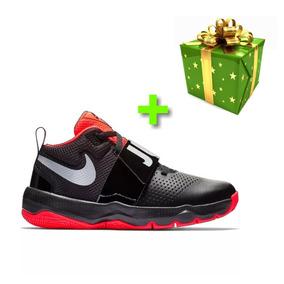 df6dd3222fb2e Tenis Nike Team Hustle D8 100% Original + Regalo Sorpresa
