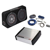 Kicker Bass Package - 43tcwrt102 10 Thin Loaded Subwoofer W