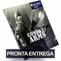Cartão Combat Arms 20.500 20k Cash Card Level Up Pc Game