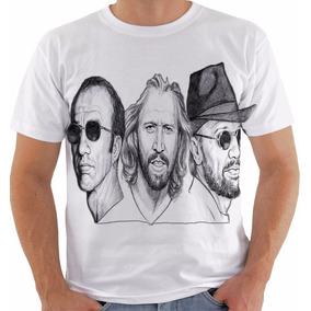 Camiseta Ou Baby Look Ou Regata Bee Gees Steve Barry Robin